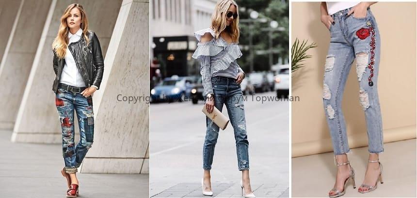 Модные джинсы в 2019 году