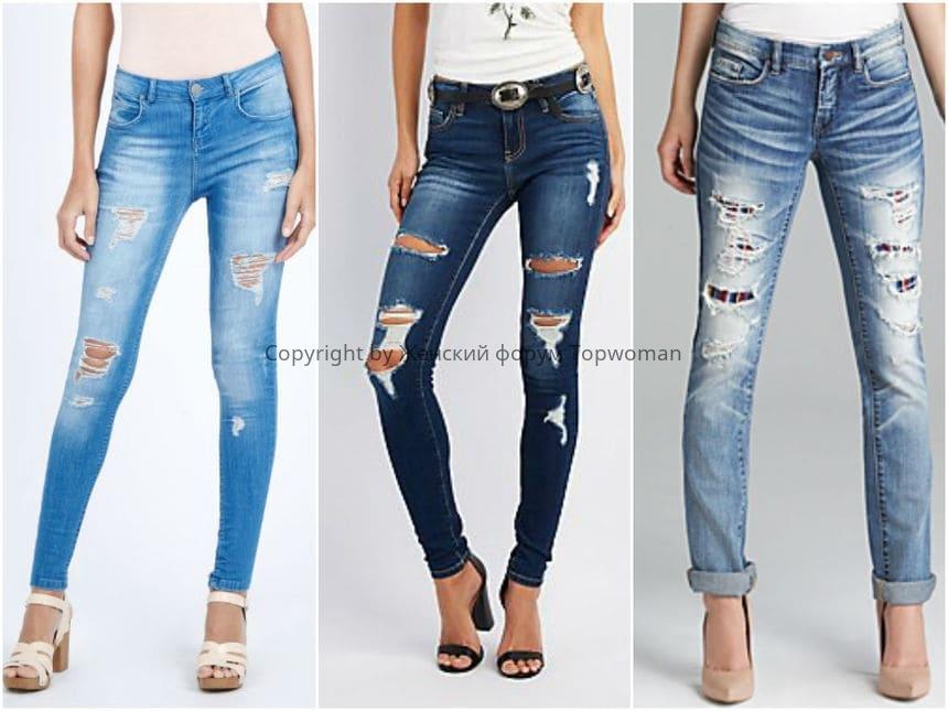 Самые модные джинсы скинни в 2019 году