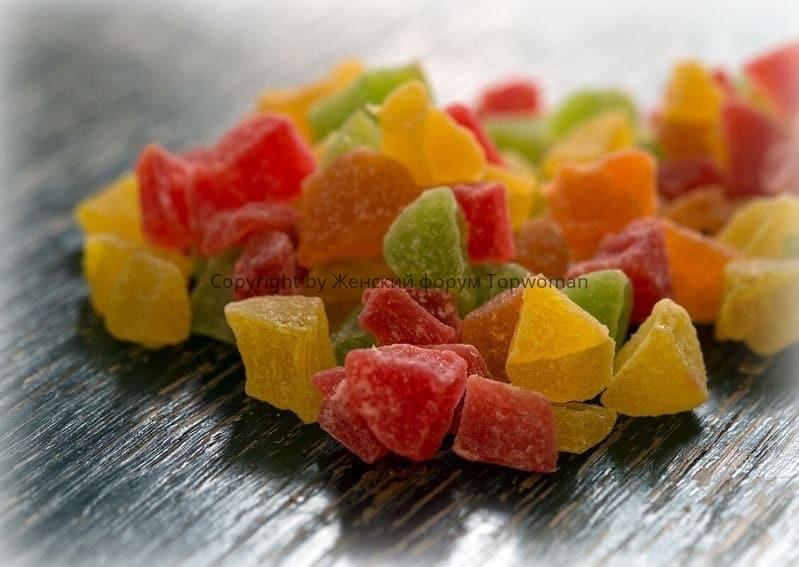 Нужно ли мыть цукаты перед употреблением