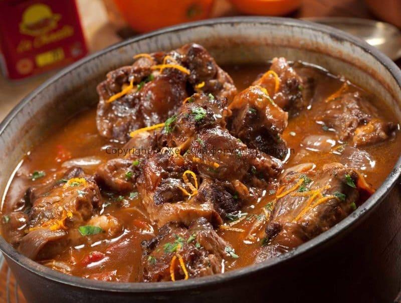 Суп из бычьих хвостов по-испански