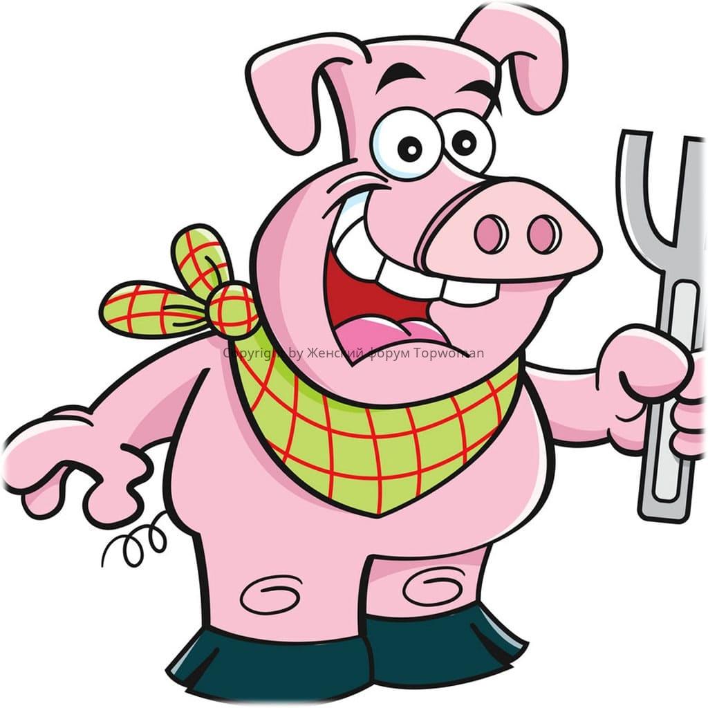 К чему снится свинья, которая хочет укусить