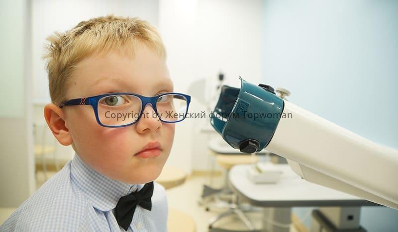 Ухудшение зрения у ребенка