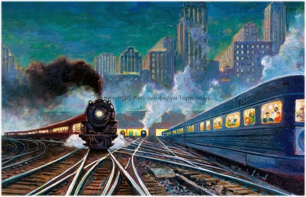 К чему снится управлять поездом