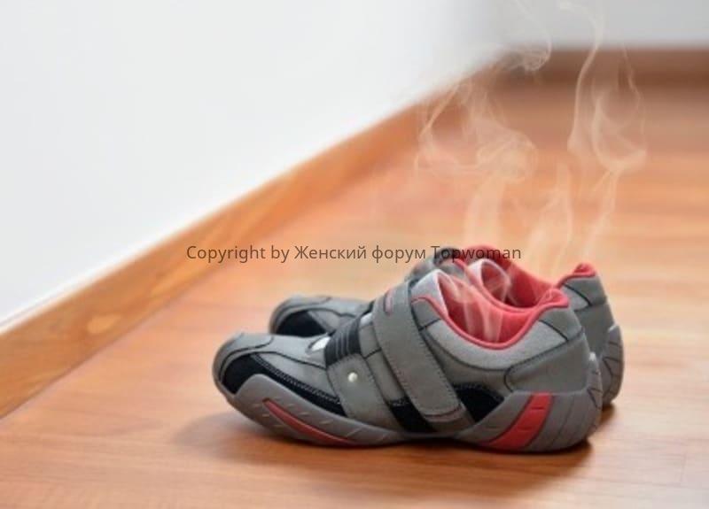 В какой обуви не потеют ноги