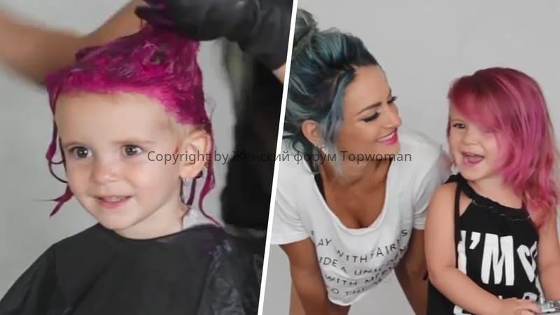 Во сколько лет можно красить волосы