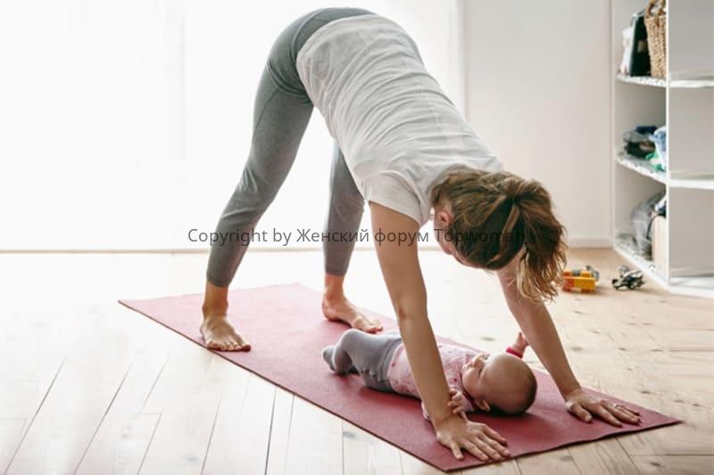 Занятия спортом после родов